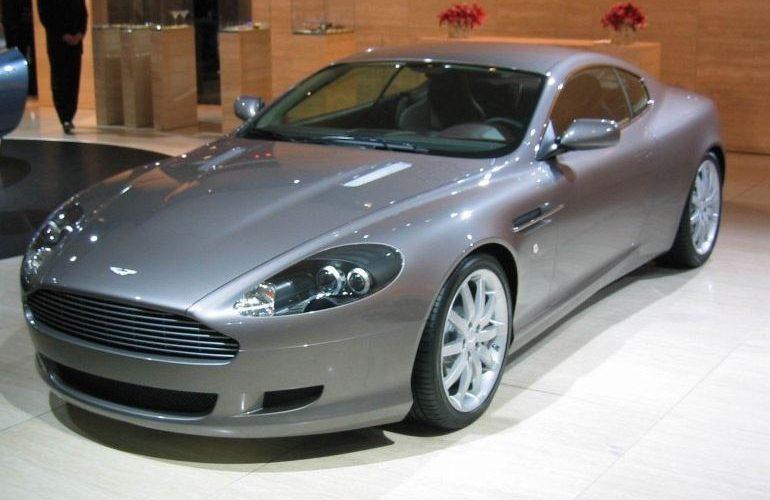 film teinté Aston Martin